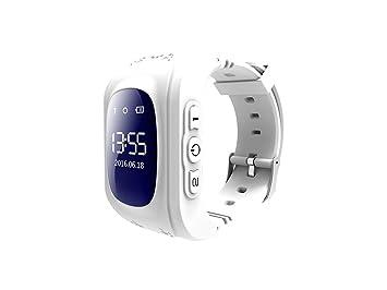 inkasus Montre Bluetooth traceur GPS pour enfant - Blanche