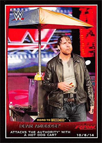 dean ambrose trading cards - 2