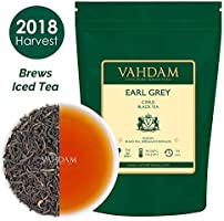VAHDAM, Imperial Earl Grey Tea Leaves (200+ Cups) - 100% Natural Bergamot Oil blended with Garden Fresh Black Tea, Floral & Citrusy, 16-ounce Bag, Garden Fresh Earl Grey Tea Loose Leaf