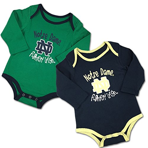 - Colosseum Notre Dame Notre Dame Fighting Irish Fan Baby and Infant Bodysuit 2-Pack