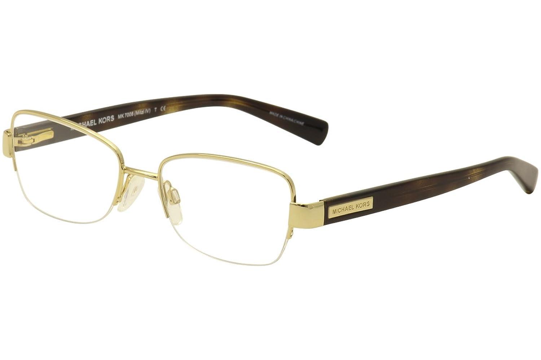 Michael Kors MITZI IV MK7008 Eyeglass Frames 1044-51 - Gold at ...