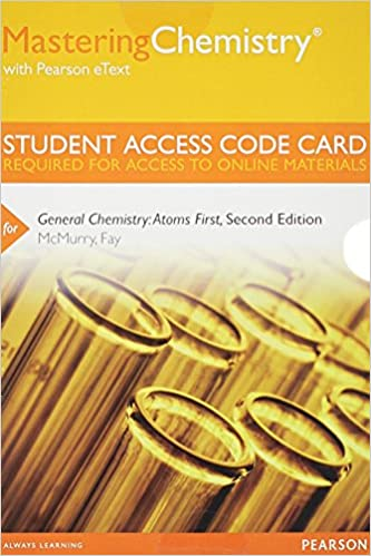 Mastering chemistry with pearson etext standalone access code mastering chemistry with pearson etext standalone access code card for general chemistry atoms first 2nd edition 2nd edition fandeluxe Images