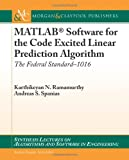 MATLAB Software for the Code Excited Linear Prediction Algorithm, Karthikeyan Natesan Ramamurthy and Andreas Spanias, 1608453847