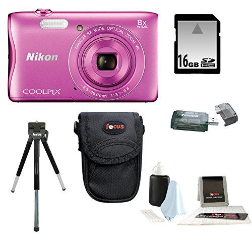 nikon-coolpix-s3700-camera-pink-with-16gb-kit