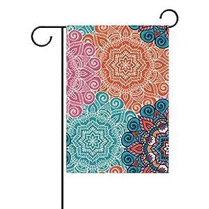 """ALIREA Mandala Polyester Garden Flag Outdoor Flag Home Party Garden Decor, Double Sided, 28"""" x 40"""""""