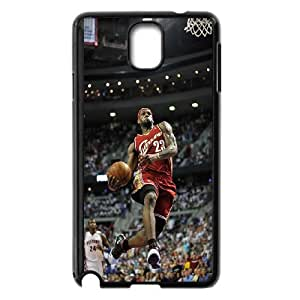 High Quality Phone Case For Samsung Galaxy NOTE4 Case Cover -Hard Plastic Cover NBA Cleveland Cavaliers LeBron James -LiuWeiTing Store Case 1