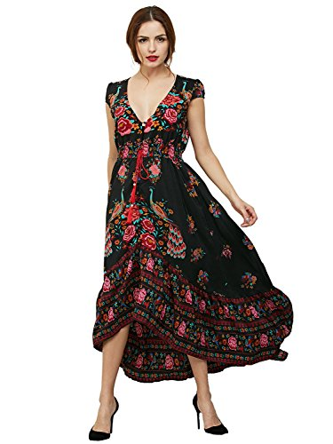 Choies Women Bohemian Floral Summer