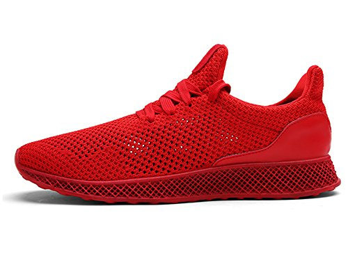 Sneakers Iiiis Sport Baskets Fitness f Outdoor B17 Gym Chaussure Multisports Rouge Running Homme Femme Chaussures De Course AFH4SA6qw