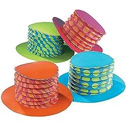 Accordion Party Hats (1 dz)