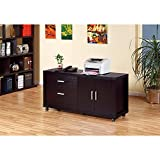 Benzara BM148768 Contemporary Style File Credenza with Drawers