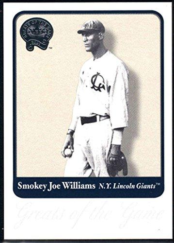 Baseball MLB 2001 Fleer Greats of the Game #134 Smokey Joe Williams NM-MT