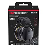 3M Worktunes Connect Bluetooth Hearing Protection with Call Integration, Noise Cancelling, NRR 29 dB (90543)