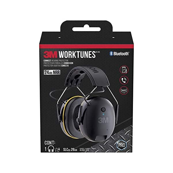 3m worktunes wireless hearing protector with bluetooth technology review