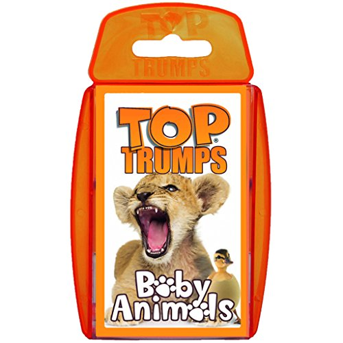 Baby Animals Top Trumps Card Game | Educational Card Games (Babies Animals)