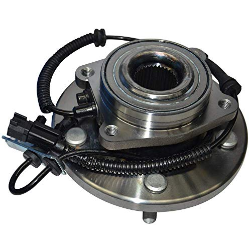 GSP 124273 Axle Bearing and Hub Assembly - Left or Right Front (Driver or Passenger Side)