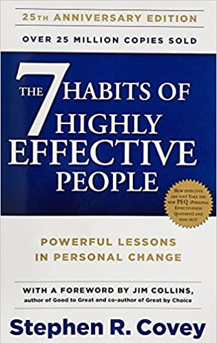 The 7 Habits Of Highly Effective People best self-help books