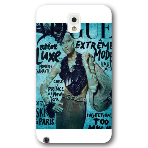 Hardshell Frosted Case - DIY personalized, Samsung note 3 Case,Full Body Protection Isabeli Fontana White Frosted hardshell Cover for Samsung note 3