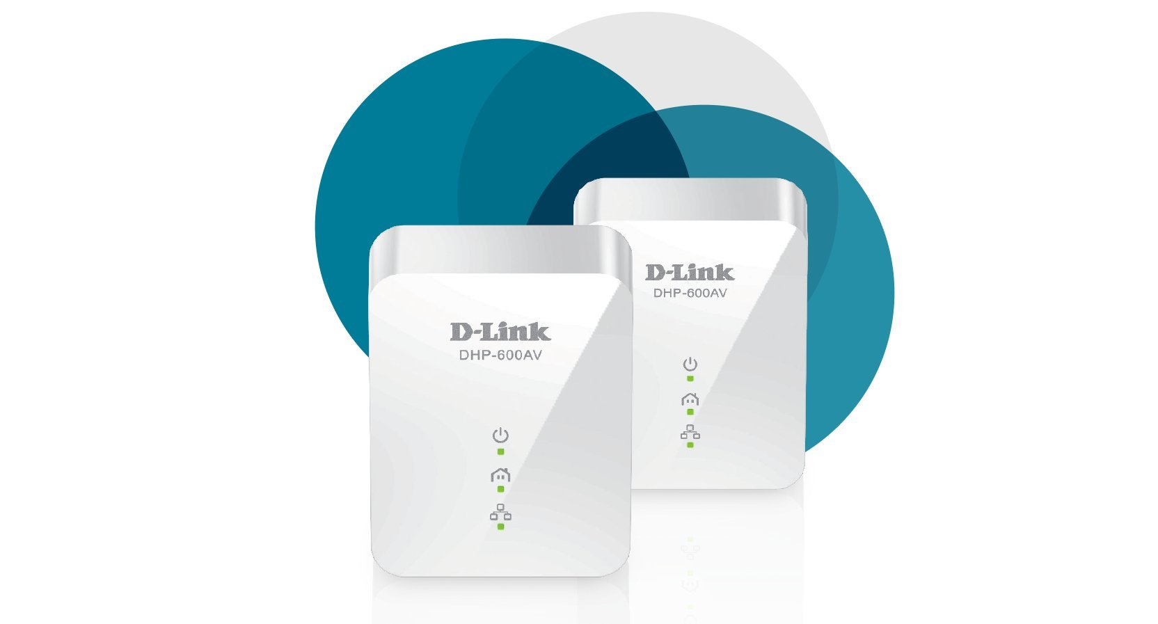 D-Link Powerline 1000 Mbps, 1 Gigabit Port (DHP-601AV) by D-Link