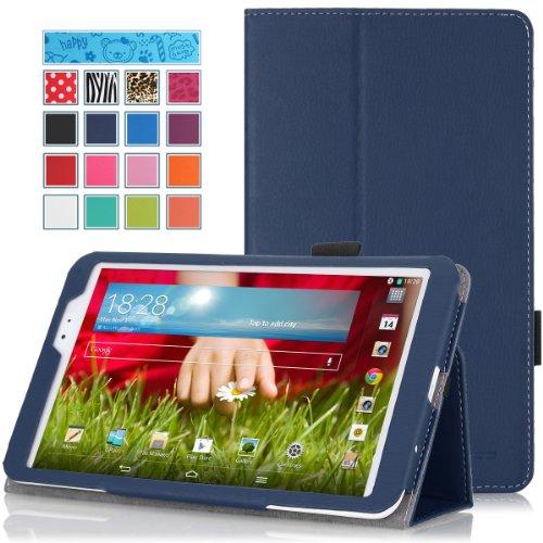 MoKo LG G Pad 8.3 Case - Slim Folding Cover Case With Built-in Hand Strap Smart Cover Auto Wake/Sleep, Stylus Pen Loop for LG G PAD 8.3 V500/V510/VK810 Verizon 4G - V500 Pad Lg G