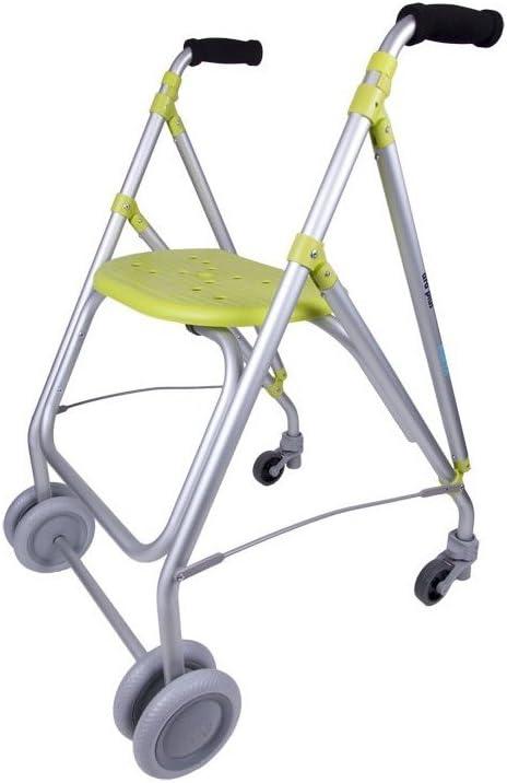 Forta fabricaciones - Andador de aluminio para ancianos ARA-PLUS - Pistacho