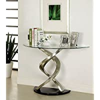 247SHOPATHOME Idf-4729S, sofa table, Chrome