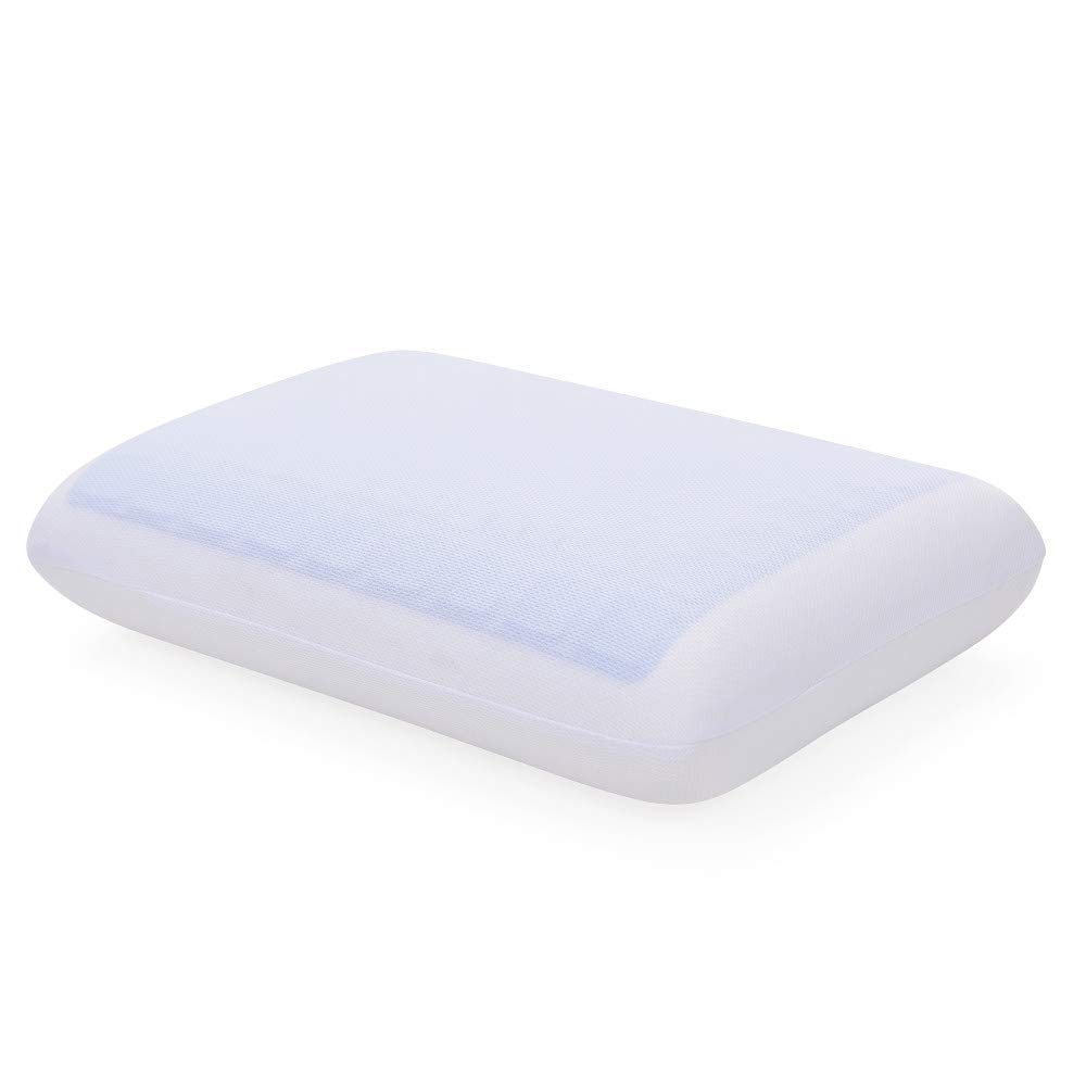 Classic Brands Reversible Gel and Memory Foam Travel Pillow by Classic Brands
