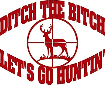 Window Car//RV//Truck//ATV//Hunting//Outdoor Vinyl Decal A Gun In The Hand  6 x 3