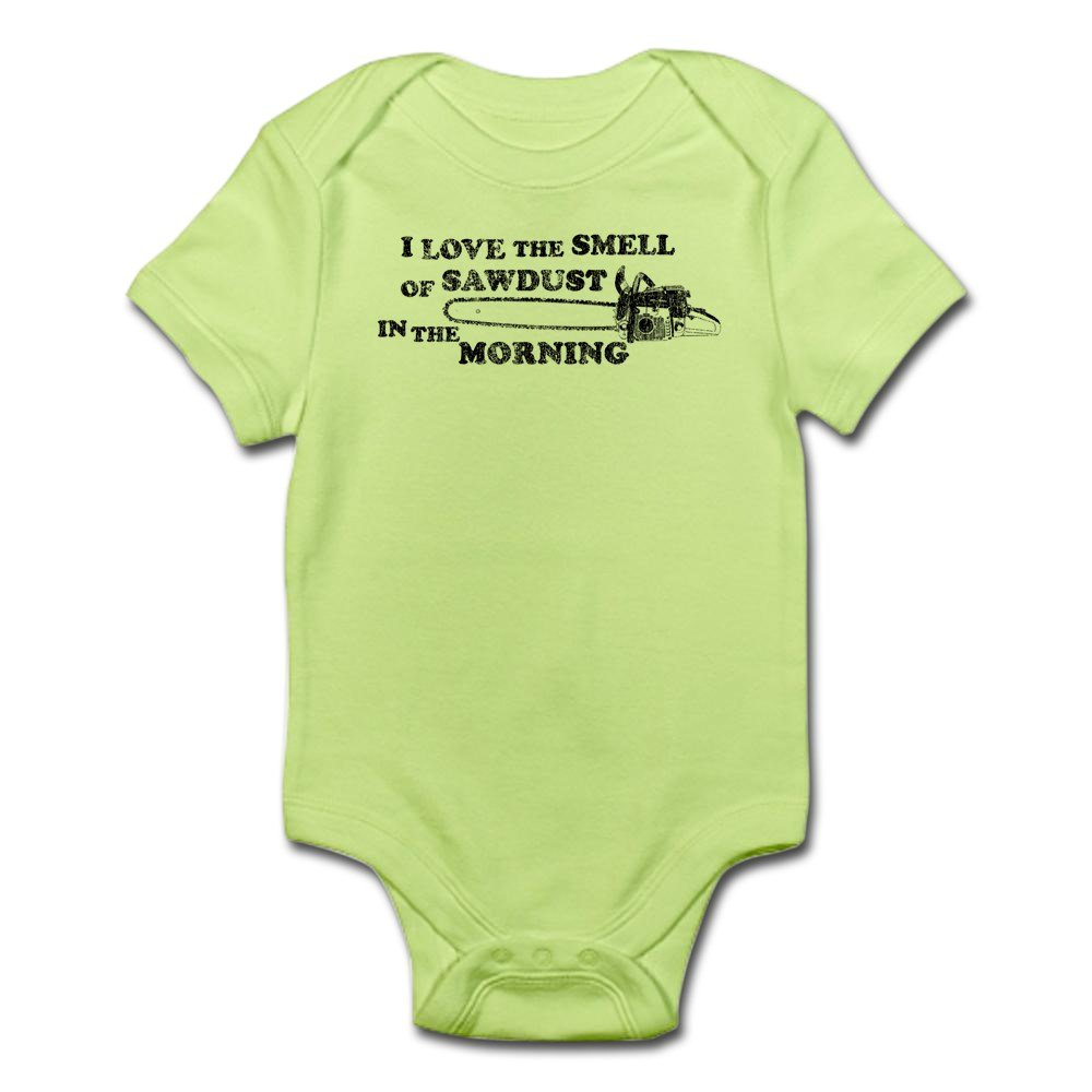 CafePress Smell is Coming from My Daddy Body Baby Bodysuit