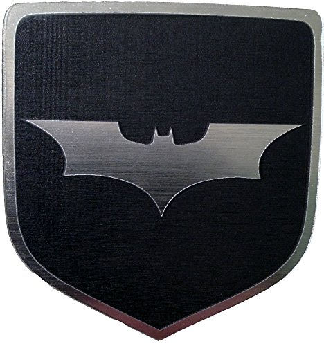 2006-2009 Dodge Charger Steering Wheel Emblem Badge Dark Knight Batman Black