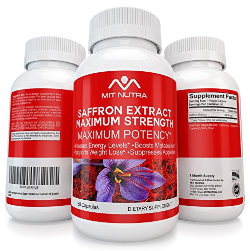 Saffron For Weight Loss, Appetite Suppressant for Women a...