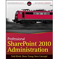 Image for Professional SharePoint 2010 Administration