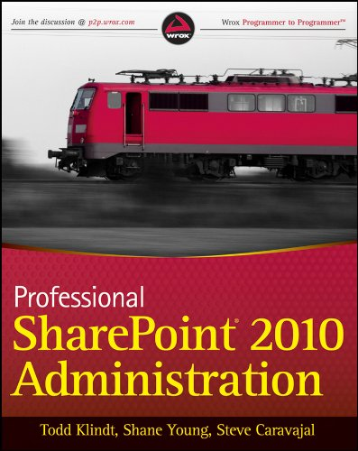 Professional SharePoint 2010 Administration Pdf
