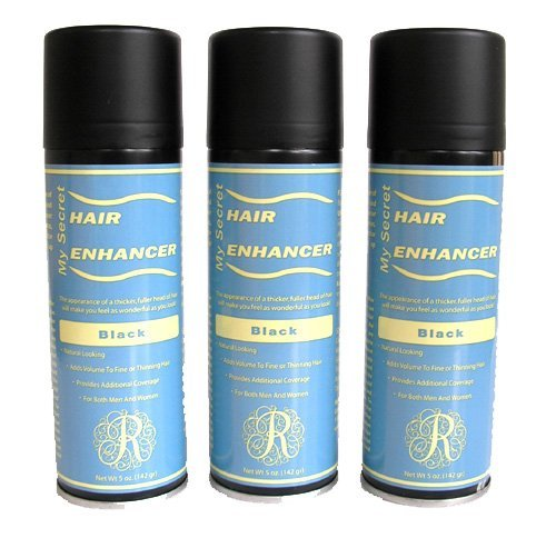 My Secret Hair Enhancer Black 5oz 3 pack