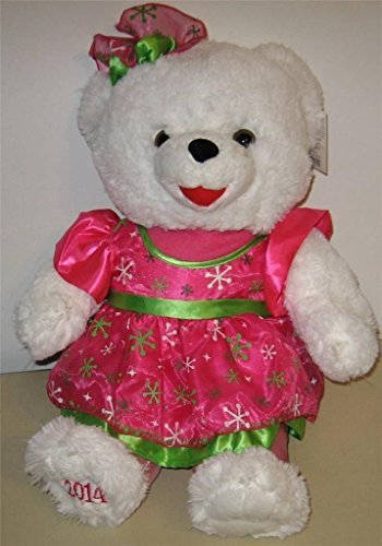T & Y Shop 2014 Christmas Snowflake Teddy Bear 19