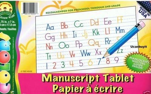 Writing Skills Manuscript Practice Pad 60 -