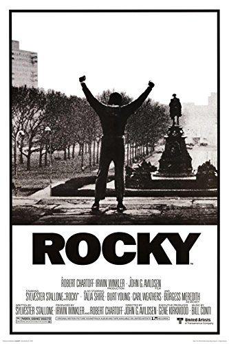 Rocky Poster - His whole life was a million to one shot, 24x