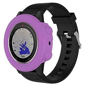 JP-DPP9 - Funda para Reloj Garmin Fenix 5X GPS, Carcasa Delgada de Silicona