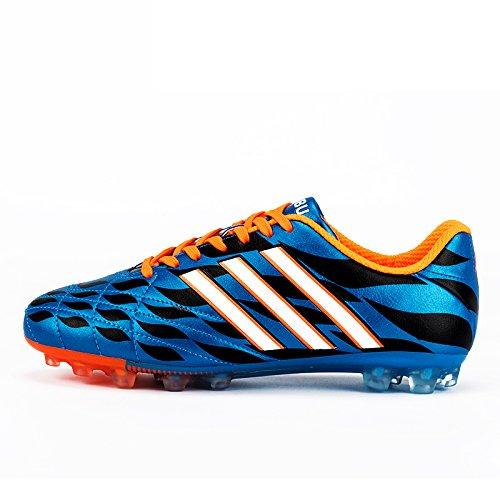 Xing Lin Chaussures De Football Chaussures De Football Hommes Ag Spike La Formation Des Adultes De LÉcole Primaire De Prairie Artificielle Jeu ChildrenS Chaussures Hommes, 34,8003-1 Blue