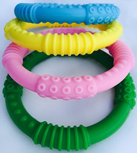 Baby Teether Silicon Multicolor Teething
