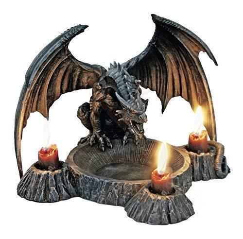 Drachen Kerzenhalter Gothic Gothic Gothic - Dragons Breath - Figur Kerzenständer 0e7e79