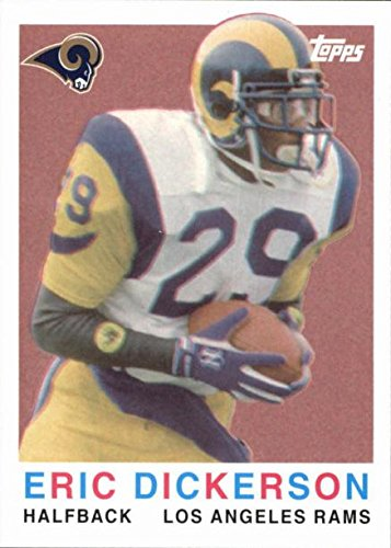 - Eric Dickerson football card (Los Angeles Rams) 2008 Topps Turn Back The Clock #5