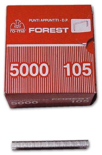 Punti 105 mm per Fissatrice Rocama 10 e Tecnica 110 e Fissatrici Maurer 5000 Pz