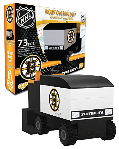 OYO Sports NHL Buildable Zamboni Boston Bruins (Boston Card Bruins Nhl)