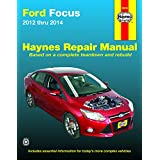 Ford Focus 2012 thru 2014: Does not include information specific to Focus Electric models