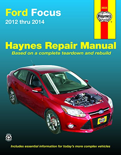 - Ford Focus 2012 thru 2014: Does not include information specific to Focus Electric models (Haynes Repair Manual)