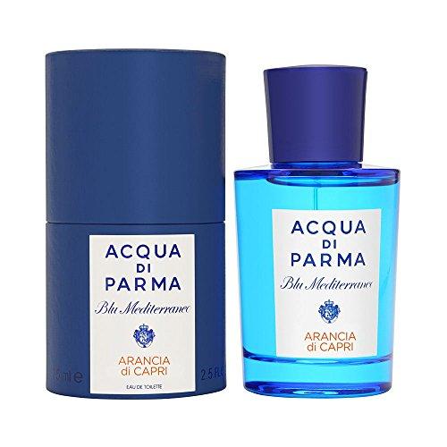Acqua Di Parma Blue Mediterraneo Arancia Di Capri Eau de Toilette Spray for Men, 2.5 (Capri Orange Eau De Toilette)