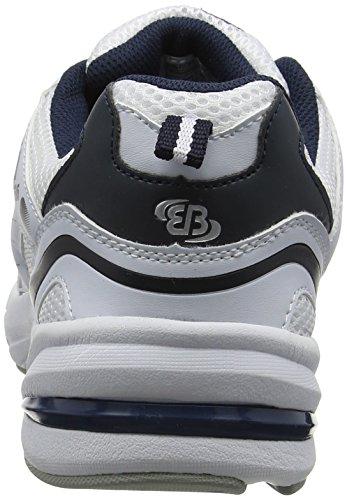 Silber Weiss Erwachsene Unisex Bruetting Force Laufschuhe Weiß Blau n01n7Uw