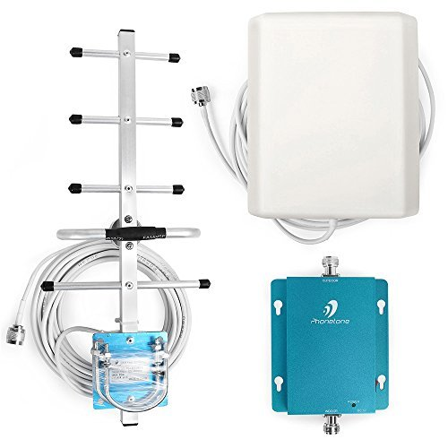 Phonetone Band 5 Cell Signal Booster 850MHz 3G GSM CDMA Cell Phone Signal Booster with Panel Antenna and Outdoor Yagi Antenna Can Boost Phone Signal to Make Calls and Text [並行輸入品]   B07DPMVPRW