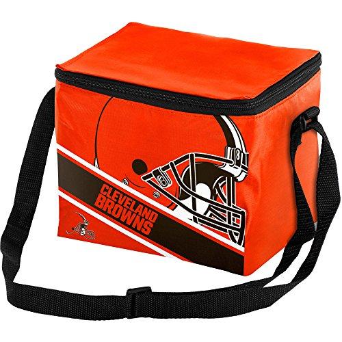 Cleveland Browns Big Logo Stripe 12 Pack Cooler