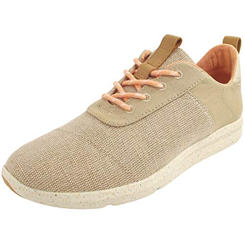 TOMS Women's Cabrillo Natural Heritage Canvas/Textured Twill 7.5 B US